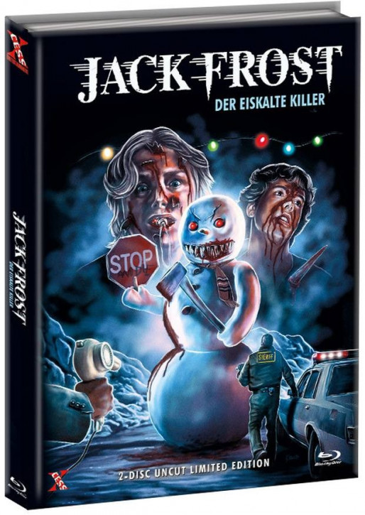 Jack Frost - Der eiskalte Killer - Mediabook - Cover C [Bluray+DVD]