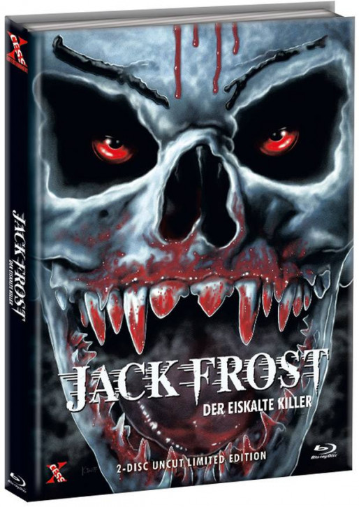 Jack Frost - Der eiskalte Killer - Mediabook - Cover D [Bluray+DVD]