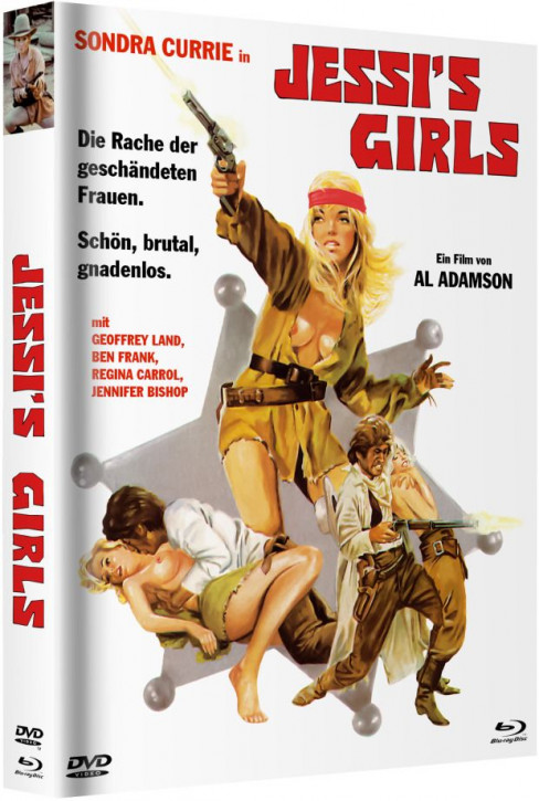 Jessis Girls - Mediabook - Cover A [Blu-ray+DVD]