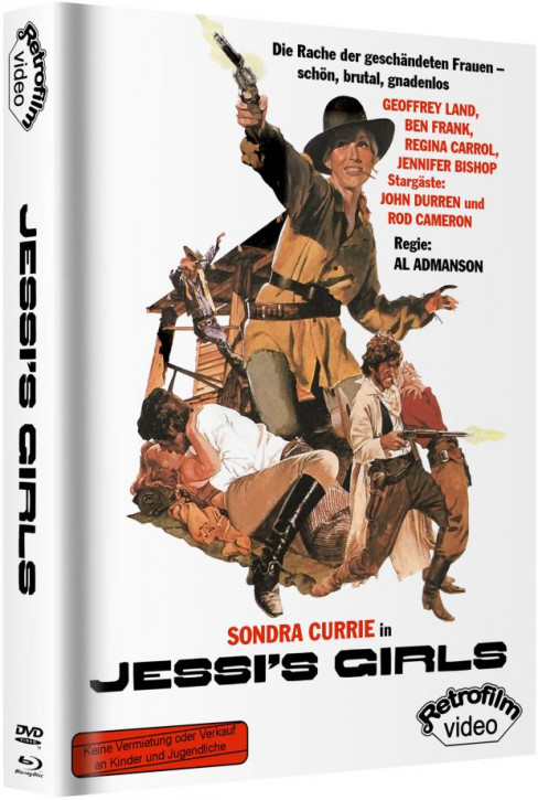 Jessis Girls - Mediabook - Cover B [Blu-ray+DVD]