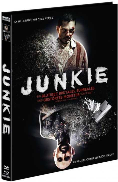 Junkie - Limited Mediabook Edition - Cover C [Blu-ray+DVD]
