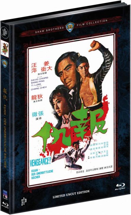 Kuan - Der unerbittliche Rächer - Mediabook - Cover B [Blu-ray]