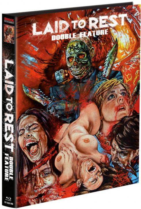 Laid to Rest 1 & 2 Chromeskull - Limited wattiertes Mediabook [Blu-ray]