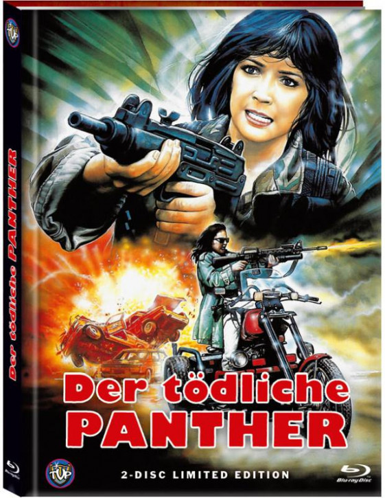 Der tödliche Panther (Lethal Panther) - Limited Mediabook Edition - Cover A [Blu-ray+DVD]