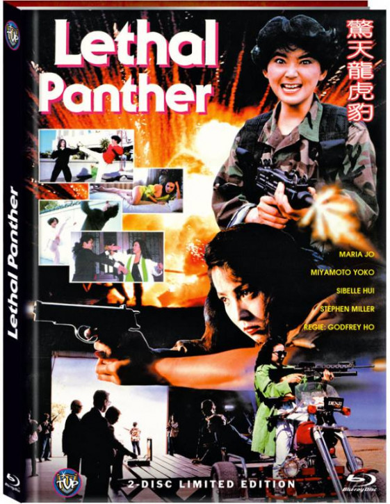 Der tödliche Panther (Lethal Panther) - Limited Mediabook Edition - Cover B [Blu-ray+DVD]