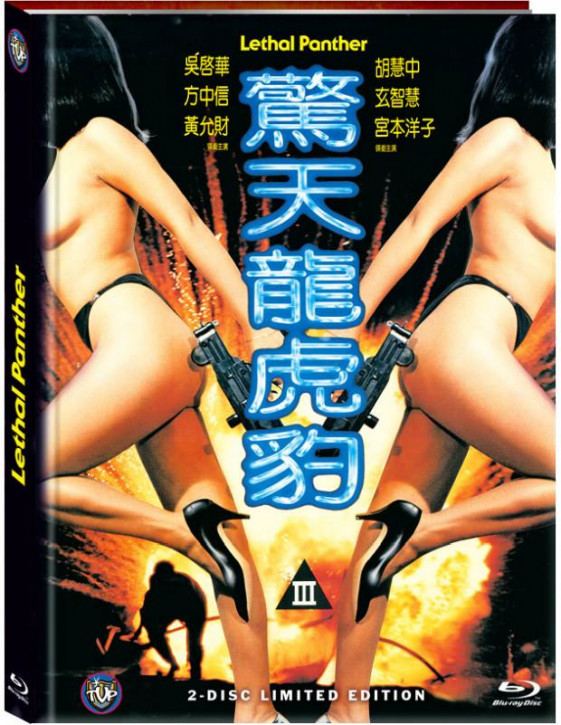 Der tödliche Panther (Lethal Panther) - Limited Mediabook Edition - Cover D [Blu-ray+DVD]