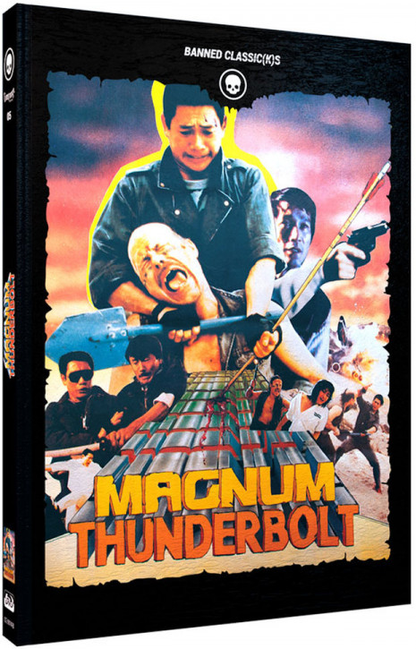 Magnum Thunderbolt - Limited Mediabook Edition - Cover B [Blu-ray+DVD]