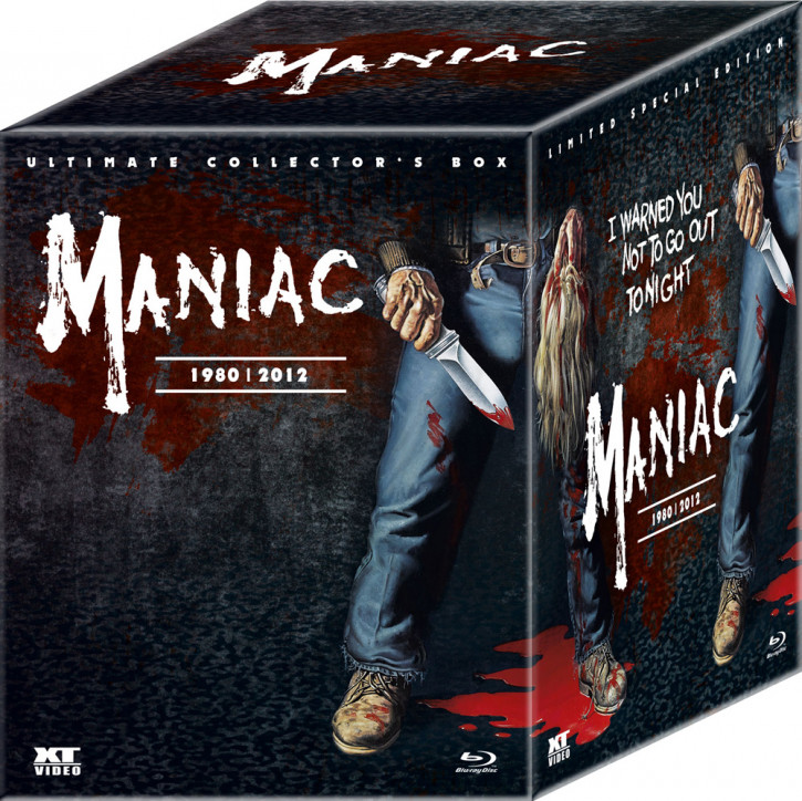 Maniac - 1980 | 2012 (Uncut) - Ultimate Edition [Blu-ray]