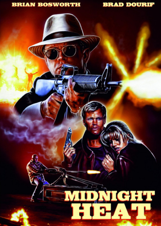 Midnight Heat - Limited Mediabook Edition - Cover A [Blu-ray+DVD]