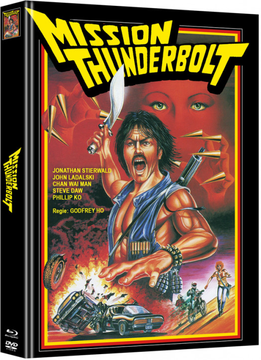 Mission Thunderbolt - Limited Mediabook Edition - Cover A [DVD]