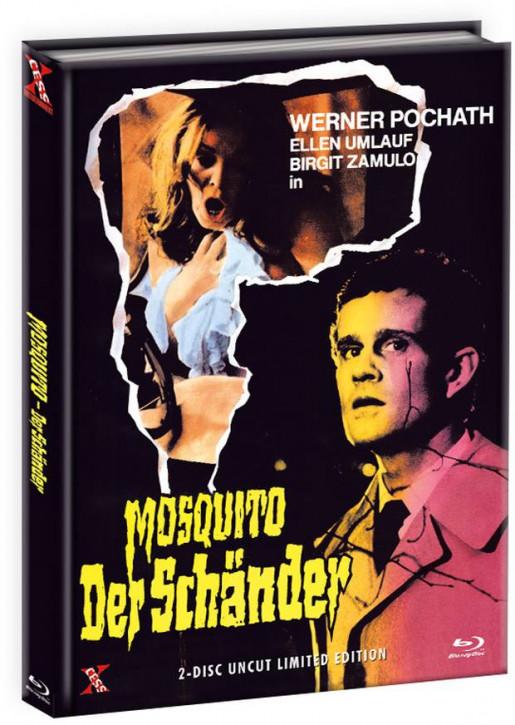 Mosquito - Der Schänder - Mediabook - Cover A [Bluray+DVD]