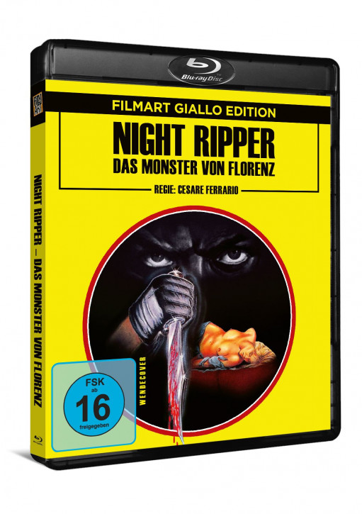 Night Ripper - Das Monster von Florenz [Blu-ray]