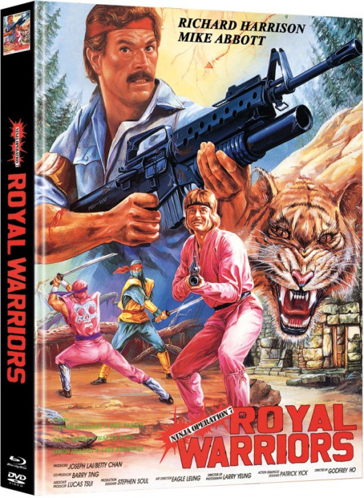 Ninja Operation 7 - Royal Warrior - Limited Mediabook Edition - Cover C [Blu-ray+DVD]