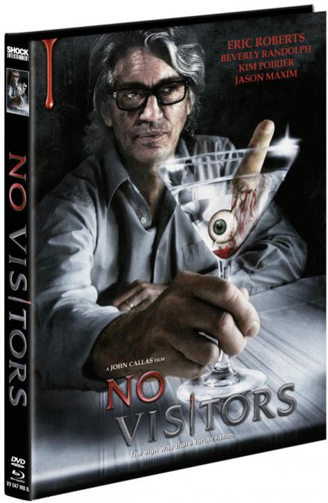 No Visitors - Mediabook - Cover B [Blu-ray+DVD]