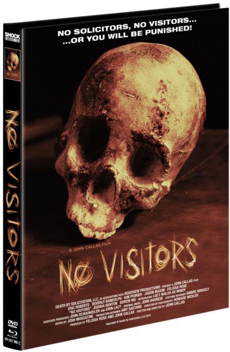 No Visitors - Mediabook - Cover C [Blu-ray+DVD]