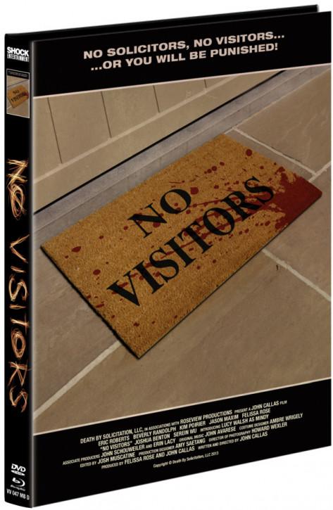 No Visitors - Mediabook - Cover D [Blu-ray+DVD]