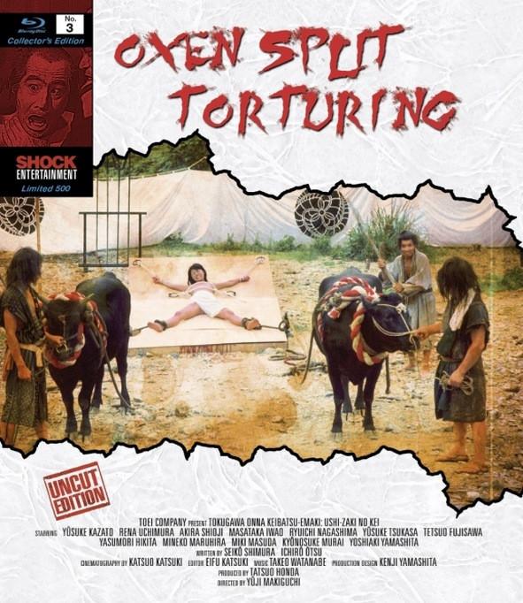 Oxen Split Torturing - Collectors Edition Nr. 3 (Uncut) [Blu-ray]