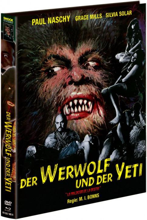 Der Werwolf und der Yeti - Limited Mediabook - Cover A [Blu-ray+DVD]