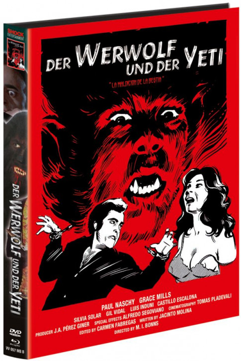 Der Werwolf und der Yeti - Limited Mediabook - Cover B [Blu-ray+DVD]