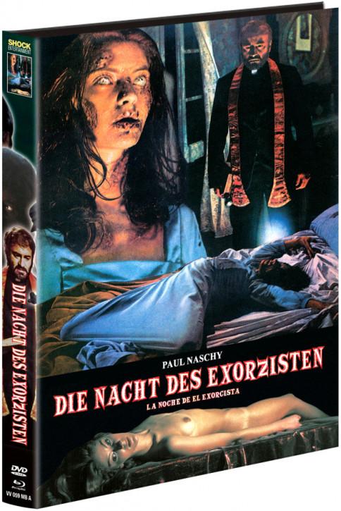 Die Nacht des Exorzisten - Limited Mediabook - Cover A [Blu-ray+DVD]