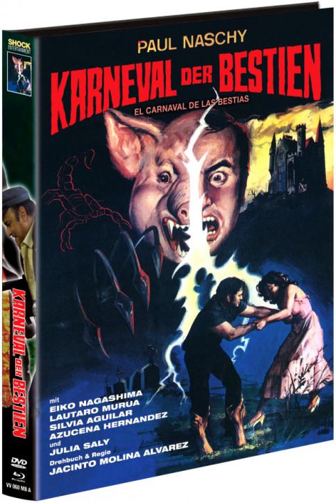 Karneval der Bestien - Limited Mediabook - Cover A [Blu-ray+DVD]