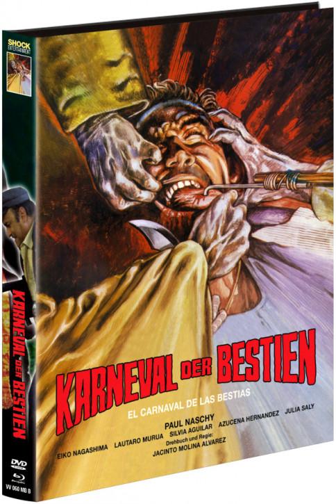 Karneval der Bestien - Limited Mediabook - Cover B [Blu-ray+DVD]
