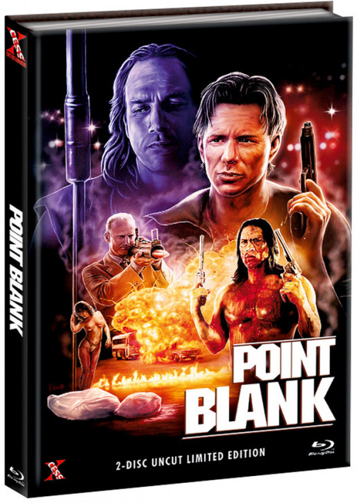 Point Blank - Mediabook - Cover B [Bluray+DVD]