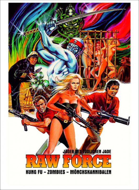 Raw Force - Limited Mediabook Edition - Cover B [Blu-ray+DVD]
