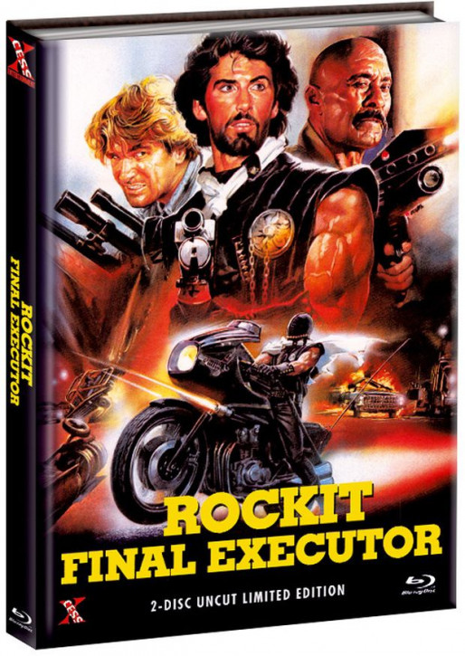 Rockit - Final Executor - Mediabook - Cover A [Bluray+DVD]
