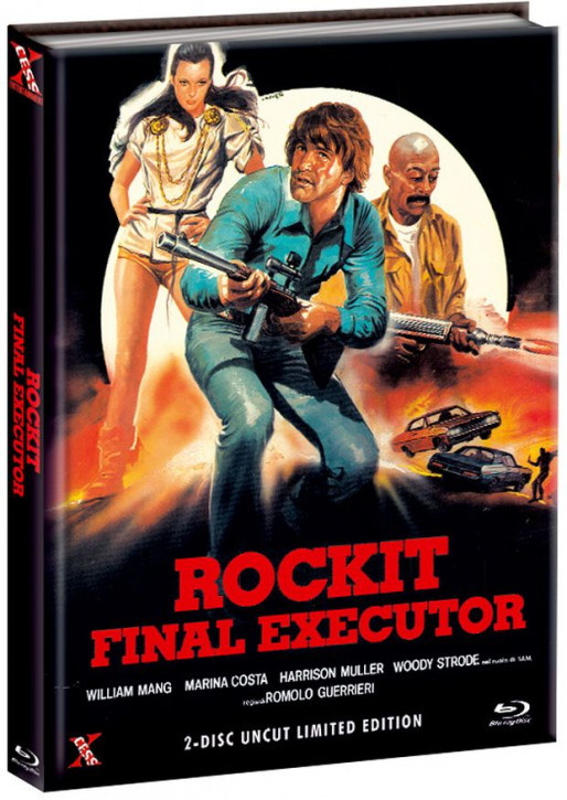 Rockit - Final Executor - Mediabook - Cover B [Bluray+DVD]