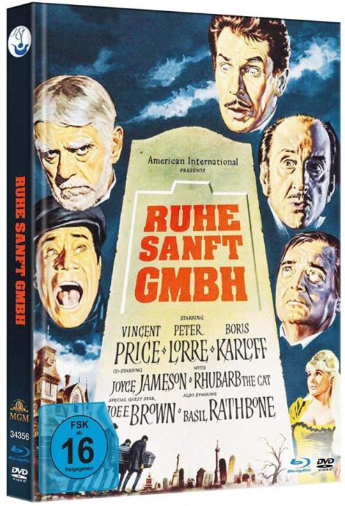 Ruhe Sanft GmbH - Limited Mediabook Edition - [Blu-ray+DVD]