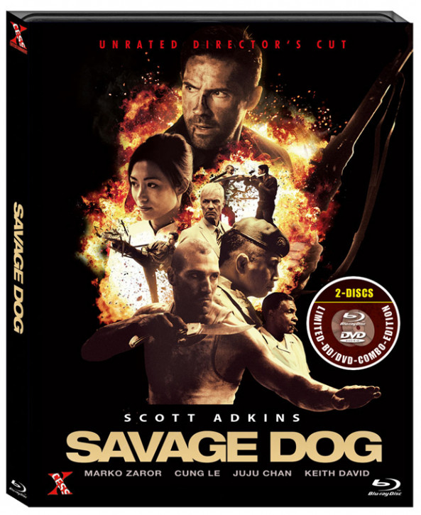 Savage Dog - Unrated Directors Cut [Blu-ray]