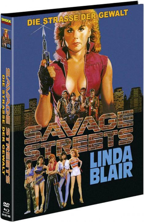 Savage Streets - Limited Mediabook - Cover B [Blu-ray+DVD]