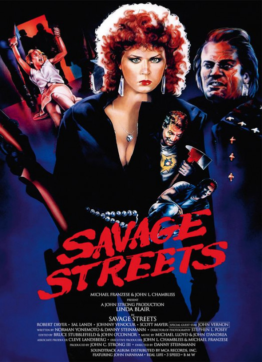 Savage Streets - Limited Mediabook - Cover C [Blu-ray+DVD]