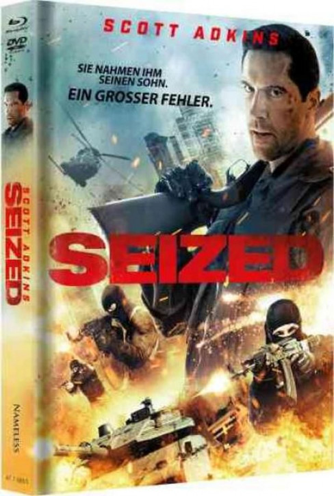 Seized - Gekidnappt - Limited Mediabook - Cover A [Blu-ray+DVD]