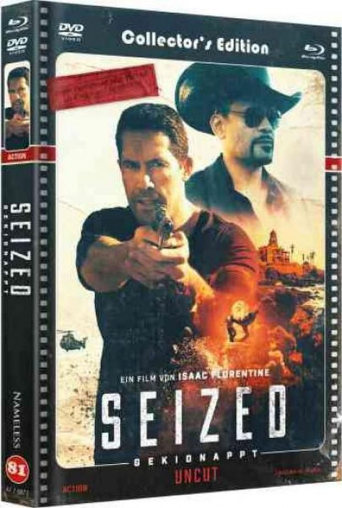 Seized - Gekidnappt - Limited Mediabook - Cover C [Blu-ray+DVD]