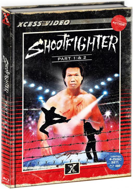 Shootfighter 1+2  - Mediabook [Bluray+DVD]