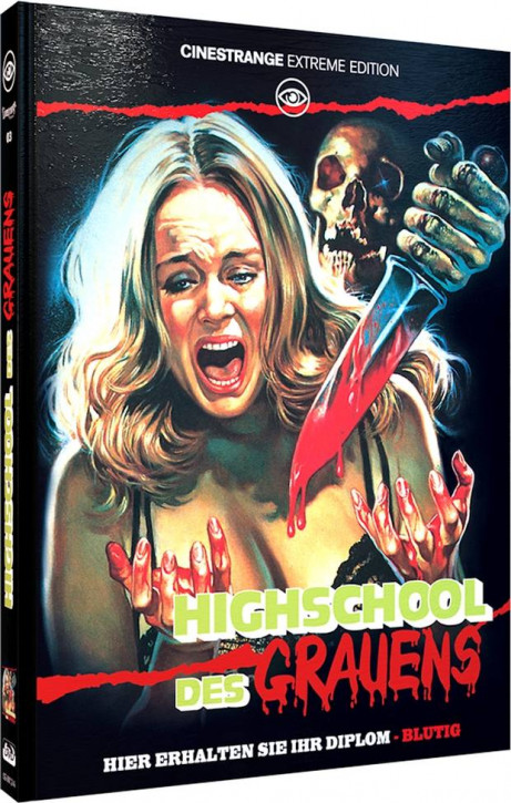 Splatter University - Limited Mediabook Edition - Cover A [Blu-ray+DVD]
