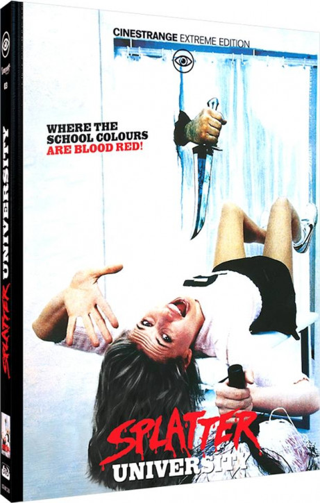 Splatter University - Limited Mediabook Edition - Cover B [Blu-ray+DVD]