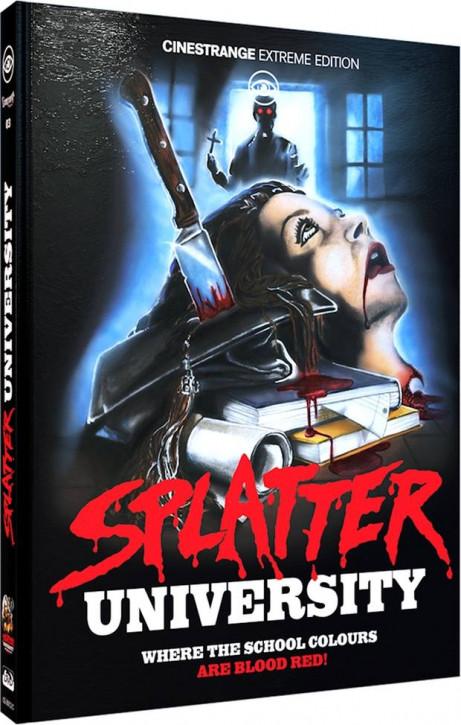 Splatter University - Limited Mediabook Edition - Cover C [Blu-ray+DVD]