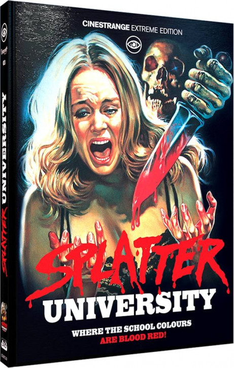 Splatter University - Limited Mediabook Edition - Cover D [Blu-ray+DVD]