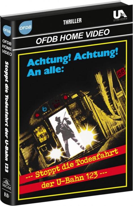 Stoppt die Todesfahrt der U-Bahn 1-2-3 - Große Hartbox [Blu-ray]