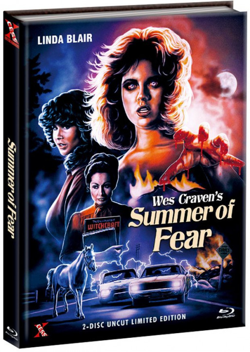 Summer of Fear - Mediabook - Cover B [Bluray+DVD]