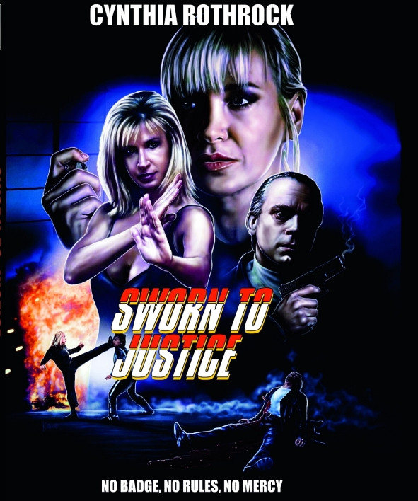 Sworn to Justice - Limited Mediabook Edition - Cover A [Blu-ray+DVD]