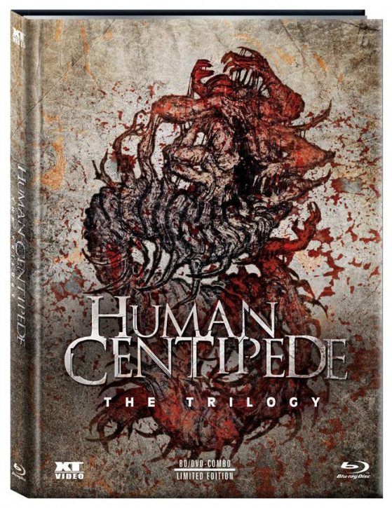 The Human Centipede 1-3 - Trilogy - Limited Mediabook [Blu-ray]