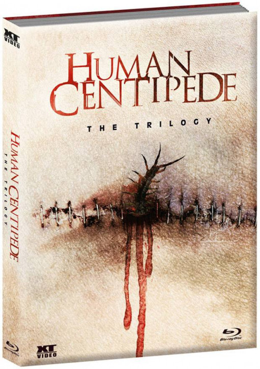 The Human Centipede 1-3 - Trilogy - Limited Collector's Edition [Blu-ray+DVD]
