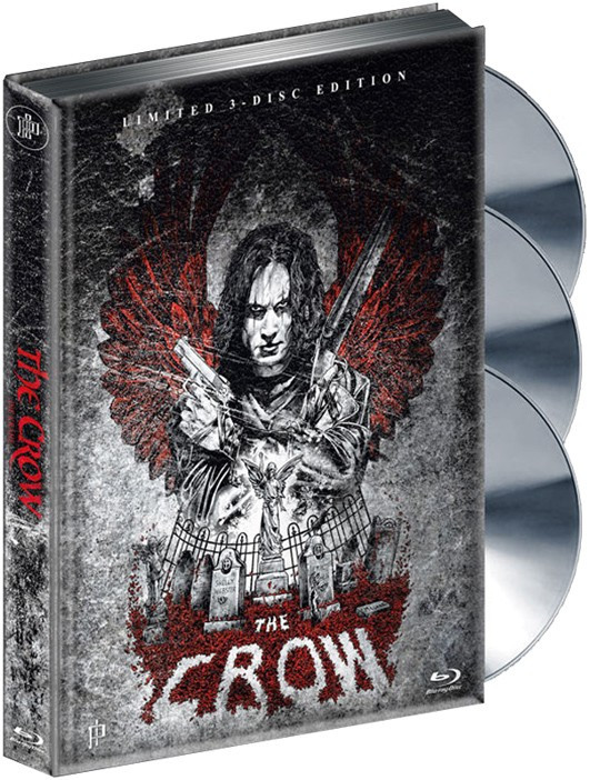 The Crow - Die Krähe - Mediabook - Cover A [Blu-ray+DVD]