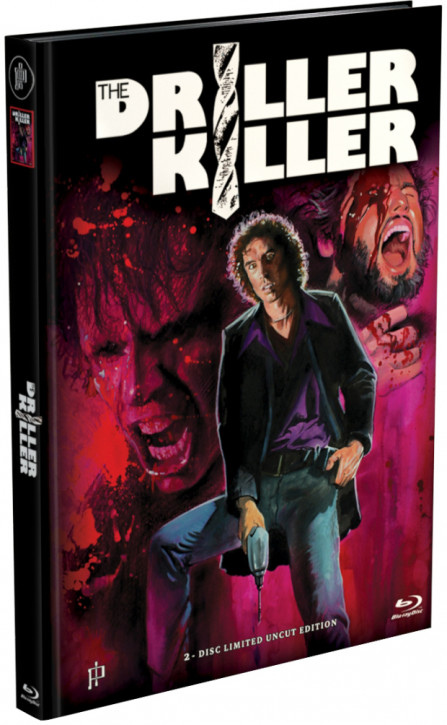 The Driller Killer - Mediabook - Cover H [Blu-ray+DVD]