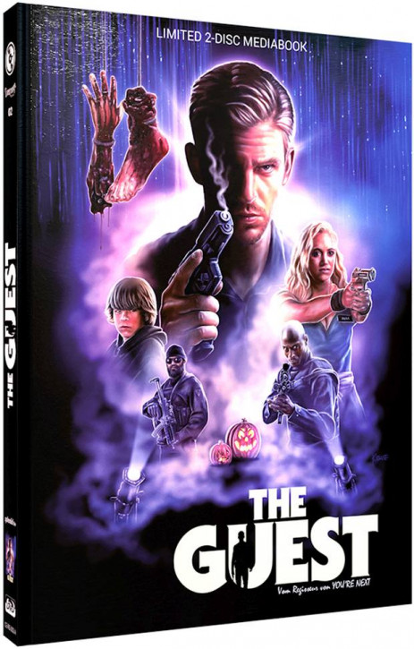 The Guest - Limited Mediabook Edition - Cover A [Blu-ray+DVD]