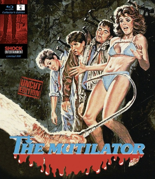 The Mutilator - Collectors Edition Nr. 4 (Uncut) [Blu-ray]